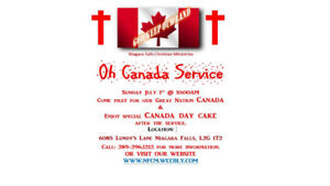 Oh Canada Service- Pray together