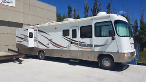 "RV RENTAL - 36 FOOT CLASS ""A"" WITH GENSET"