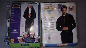 Adult Nun and Priest Costumes