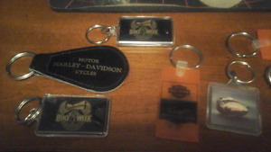 Harley-Davidson key chains