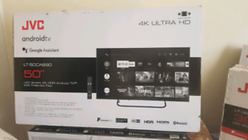 50 INCH JVC NEW MODEL 2020 ANDROID SMART 4K ULTRA HD HDR