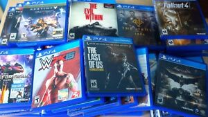 Buying PS4 games!
