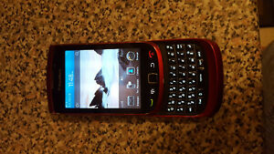 Blackberry Torch red