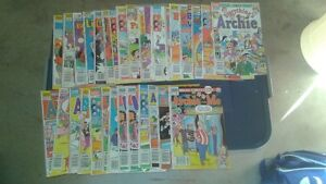 Mid 80's to early 90's Archie Comics and Digests