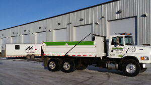 Tandem Dump Truck and/or Bobcat for Hire!