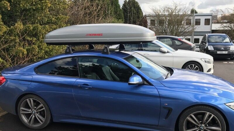 Kamei Roof Box And Thule Roof Rack Bmw In Carlton