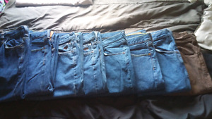 His and hers jeans_tights..new or like new $10 each