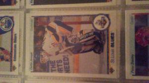 Cujo 1990-91 upper deck rookie card