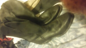 Boulet leather boots