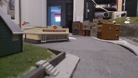 HO Model Train Set, Tons of extras, Everything Included!