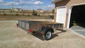 Trailer 4x8 (Stainless Steel)