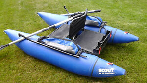 Scout Personal Pontoon boat