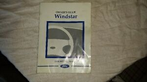 2001 Ford windstar Owners manual Kingston Kingston Area image 1