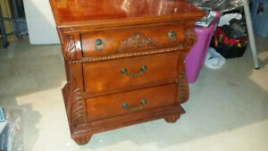 Commode , Night Table Exquisite Cherry wood