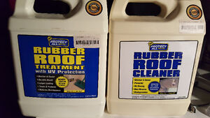 Rubber Roof cleaner and protection