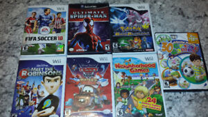 lot Wii games $30
