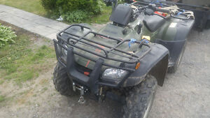 4x4 2005 Honda FourTrax At with Plow