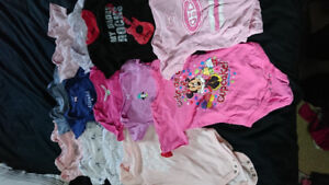 Girl clothes size 12 and 12-18 month