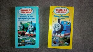kids VHS Thomas the Train movies Cambridge Kitchener Area image 1