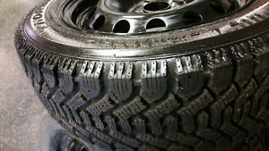 195/60/R15 Good Year (Nordic) Snow Tires (Rims Included) Kingston Kingston Area image 4