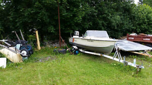 16 ft peterborough aluminum boat