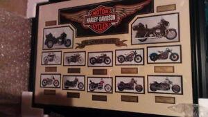 Harley Davidson Collage