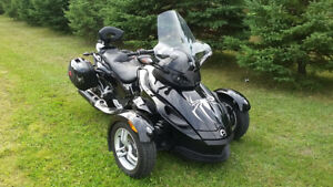 Can Am spyder 990 rs 2012 moto