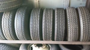 """USED TIRES- 14"""" TRAILER TIRES, LT225/75R16 AND A FEW 245/70R19.5"""