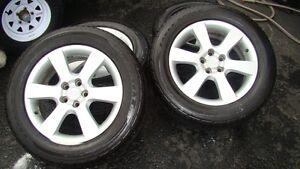 P235/60/18 Goodyear Tires and Hyundai 114 5 bolt pattern rims