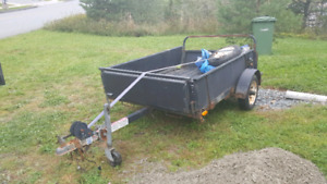 2008 utility trailer 4' x 6'   as is  $299