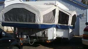 CLIPPER 12' TENT TRAILER