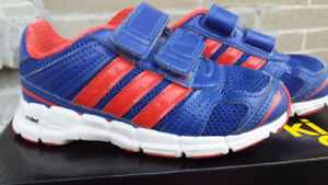 Adidas toddler size 8 running shoes