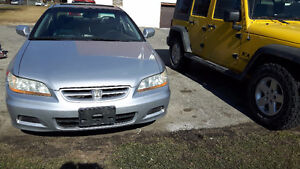 2002 Honda Accord EX V6 Coupe (2 door)