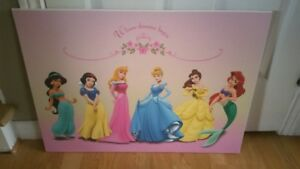 Disney Princess Frameless Mount