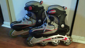 Like New Size 9 Apec 7 Roller Blades