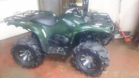 yamaha grizzly 700 power steering only 1090km