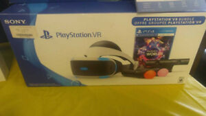 PLAY STATION 4 VR HEADSET (NO GAME) 299.36+TAXES