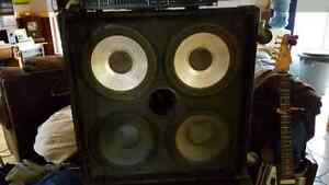 Hartke bass amp and cabs