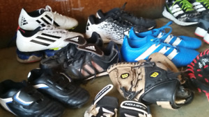 For Sale - Youth Baseball & Soccer Shoes - Adidas & Under Armour