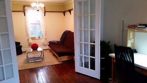 lovely, large one bedroom near Queen's and downtown