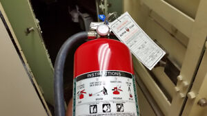 FIRE EXTINGUISHER SALE - CERTIFIED