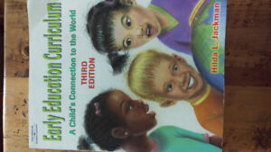 Early Education Curriculum Text