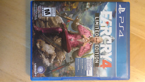 Far Cry 4 Limited Edition! Like new!$30 OBO!