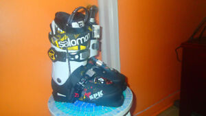 Bottes de skis Salomon SPK Kid Pro 297 mm 25 /25.0 neue