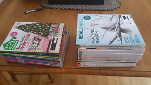 Real Simple and HGTV Magazines (31 issues!)