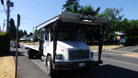 FREIGHTLINER FL80 ROLLBACK TOW TRUCK