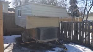 Custom built truck box camper $2600