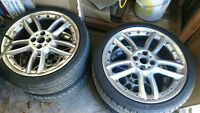 """ RARE "" MINI JCW 18"" Alloy Wheel Double-Spoke Composite R109"