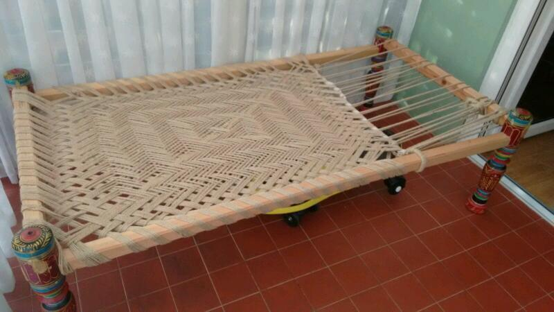 Charpai Asian Style Bed Great For Seating In