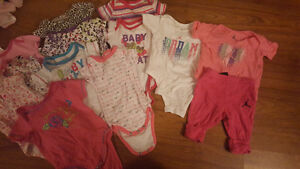Baby girl clothes 235+ items